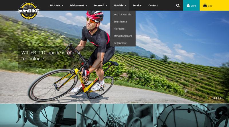 Proiect nou Webshake – Monbike.ro – Magazin online de biciclete